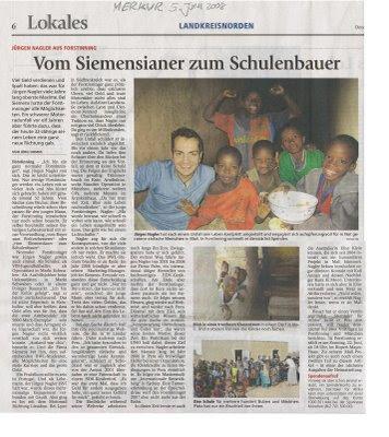 Münchner Merkur Juni 2008