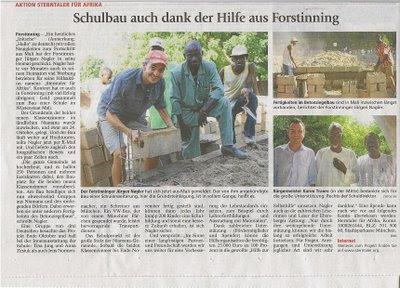 Münchner Merkur November 2008