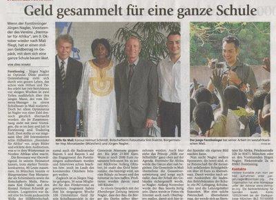 Münchner Merkur September 2008