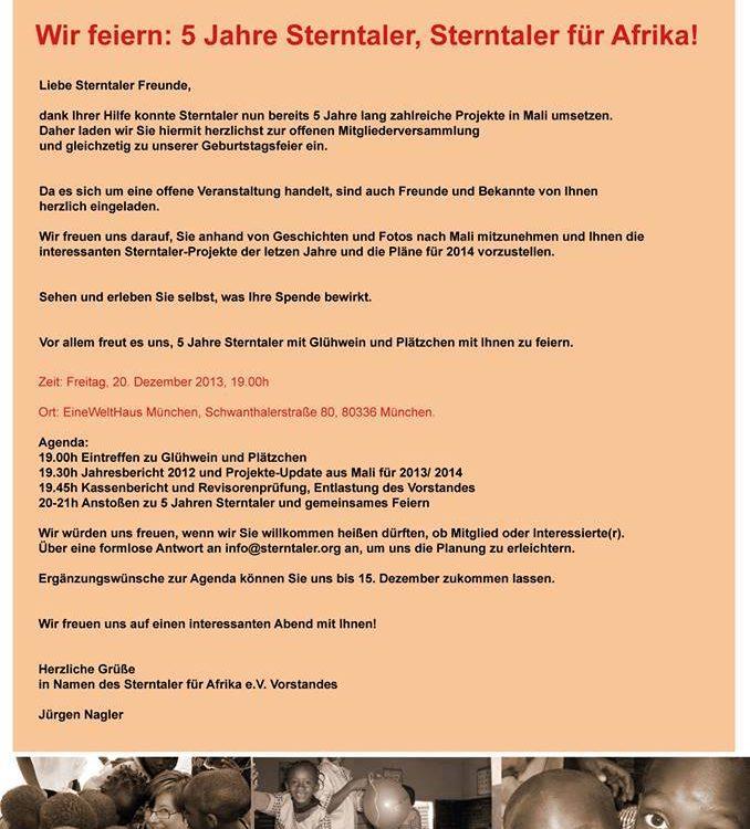 Sterntaler_für_Afrika_5_Jahresfeier_Muenchen